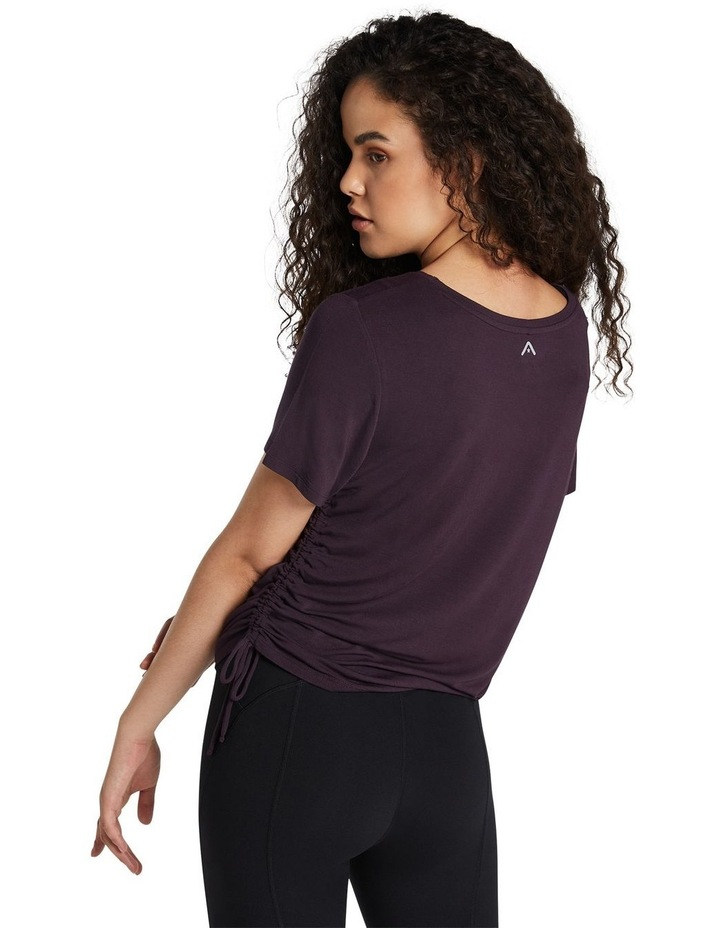Magnolia Ruched Side Tee image 3