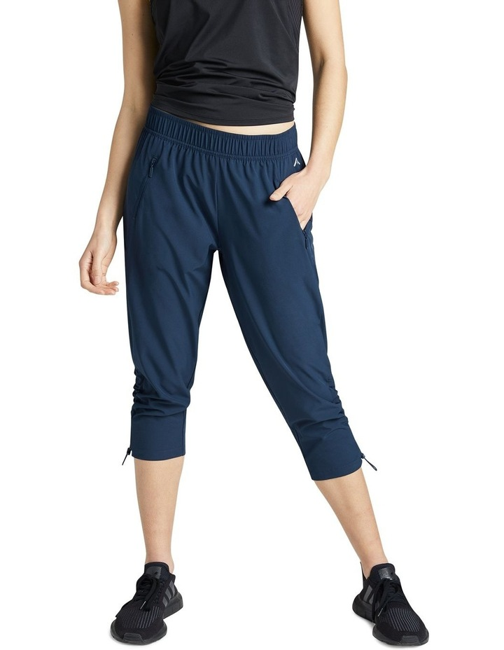 Rouched Pocket 3/4 Pants image 1
