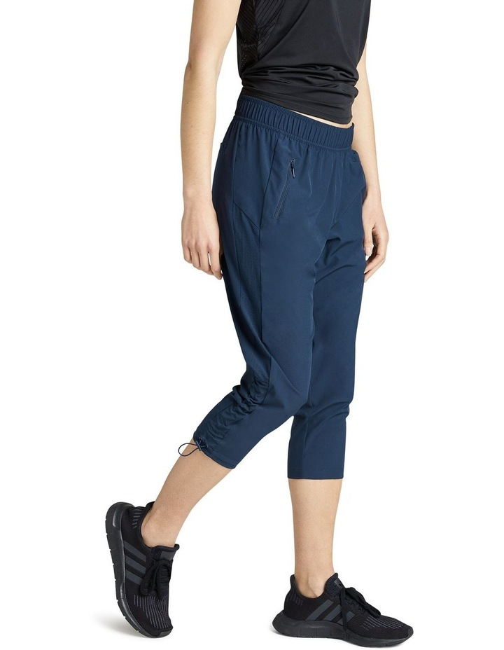 Rouched Pocket 3/4 Pants image 2