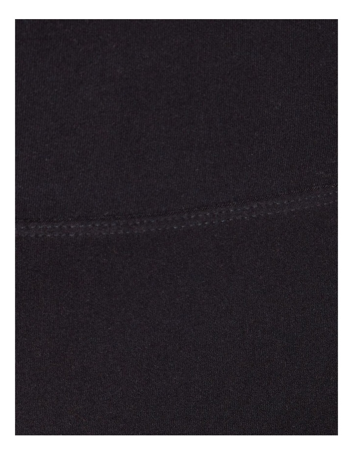 Miami Nights Ribbed Bike Shorts Black image 5