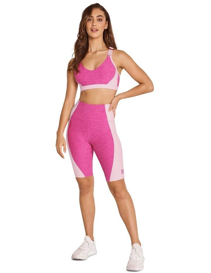 Miami Night Balance Medium Impact Sports Bra Pink image 6