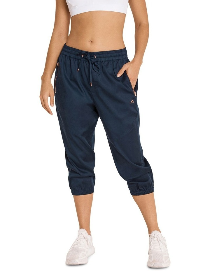 Casual 3/4 Joggers Navy image 1