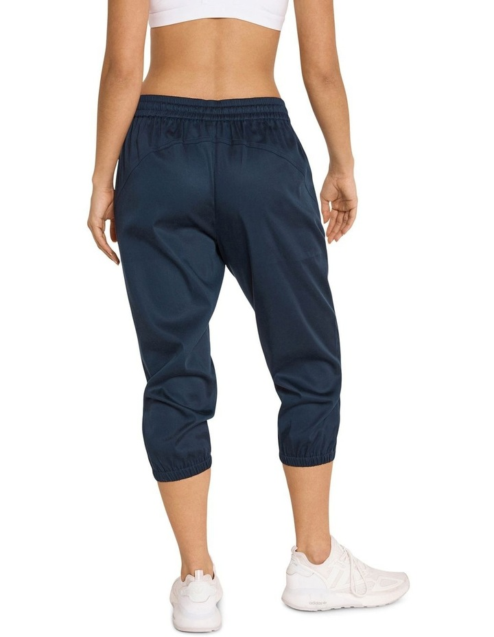 Casual 3/4 Joggers Navy image 3
