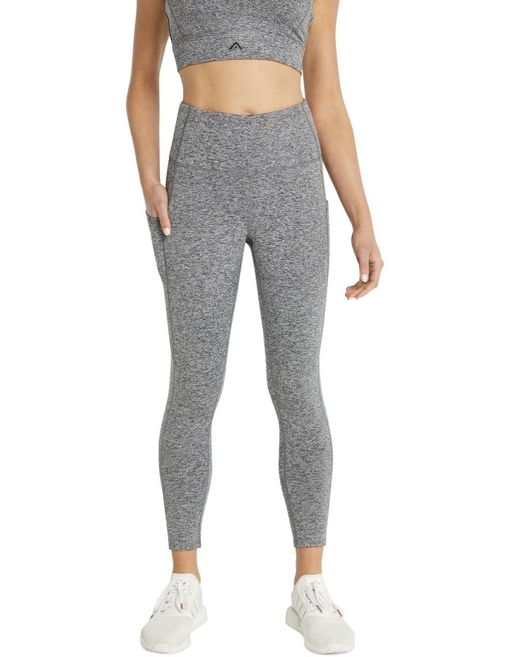 Rockwear Scrunch Bum Ankle Grazer Tights Grey image 1