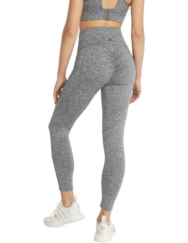 Rockwear Scrunch Bum Ankle Grazer Tights Grey image 2