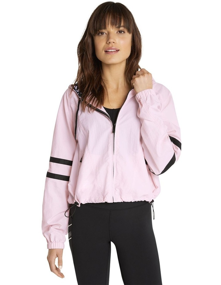 Palmetto Hooded Bomber Pink image 1