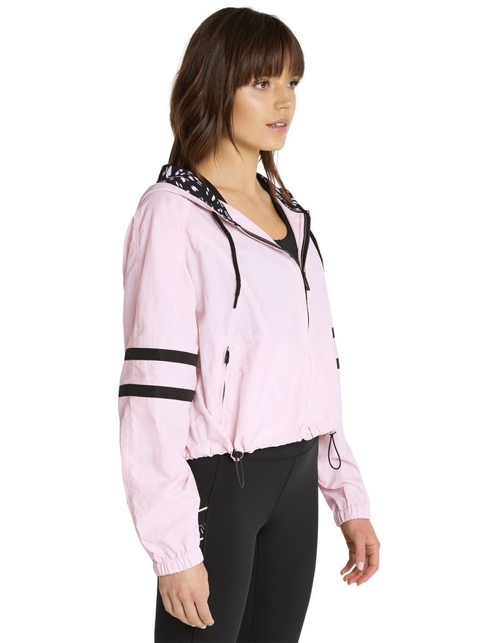 Palmetto Hooded Bomber Pink image 2