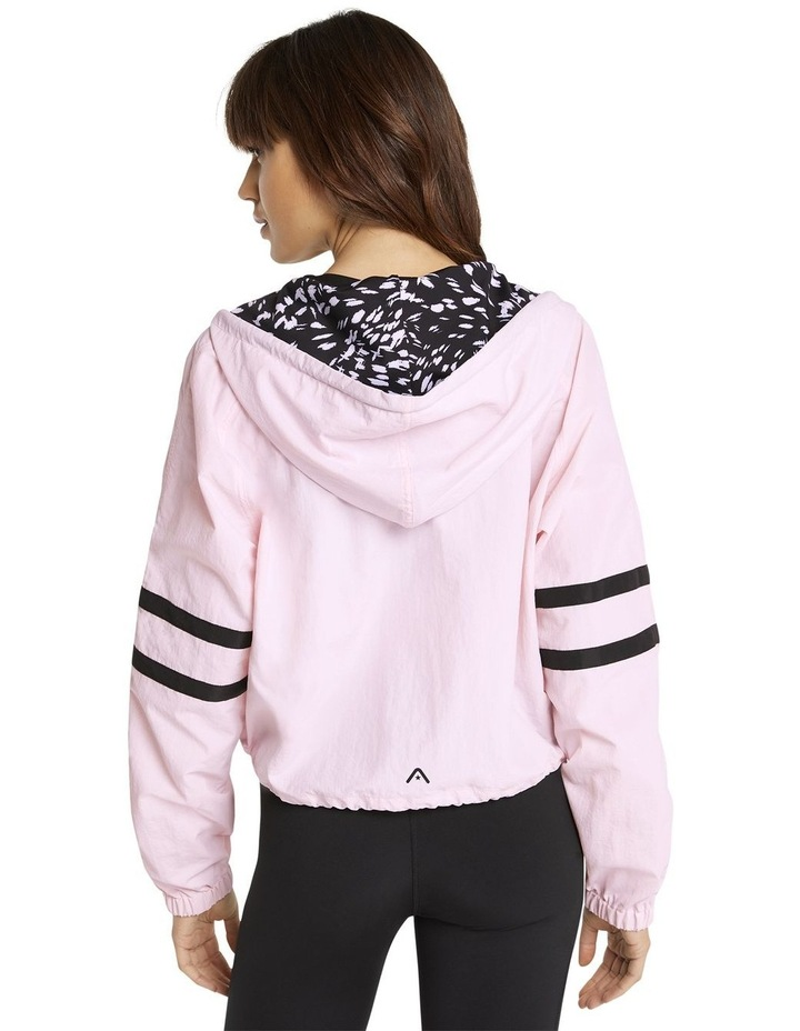 Palmetto Hooded Bomber Pink image 3