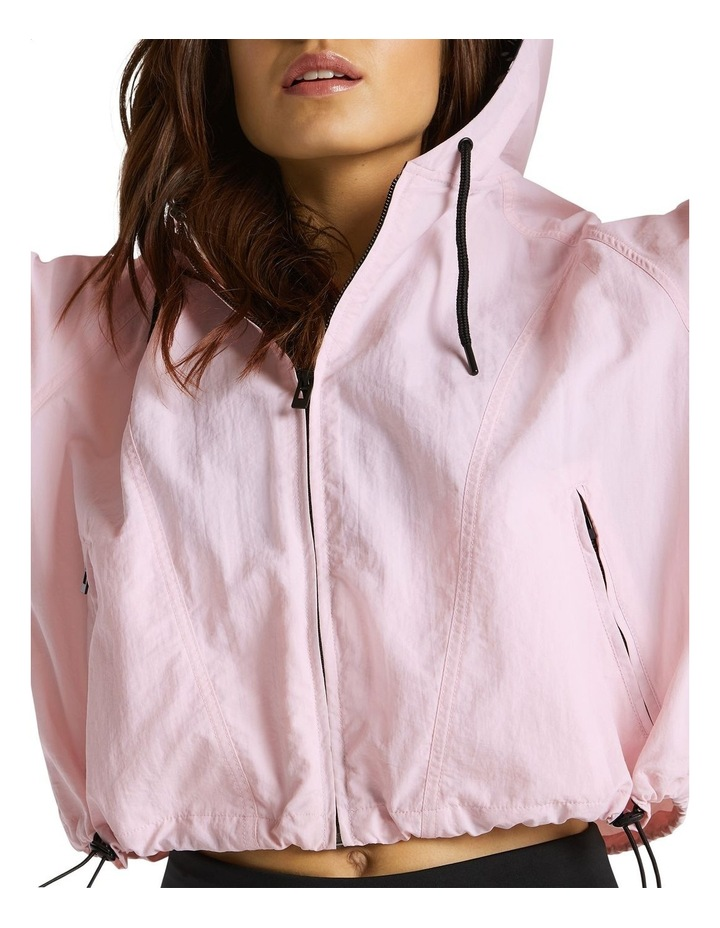 Palmetto Hooded Bomber Pink image 4
