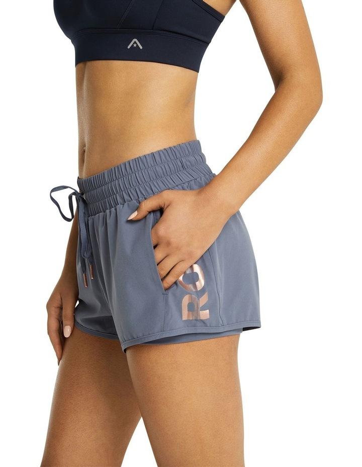 Logo Pocket Boxing Shorts Slate Blue image 2