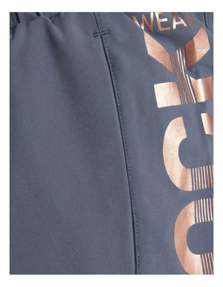 Logo Pocket Boxing Shorts Slate Blue image 6