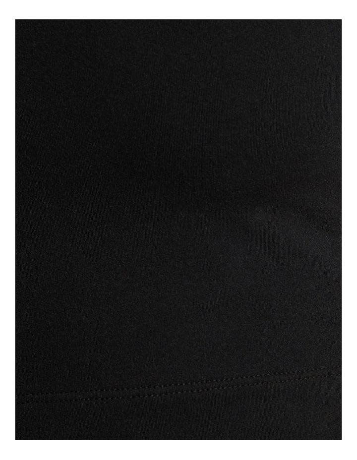 Dreamer Lattice Crop Black image 6