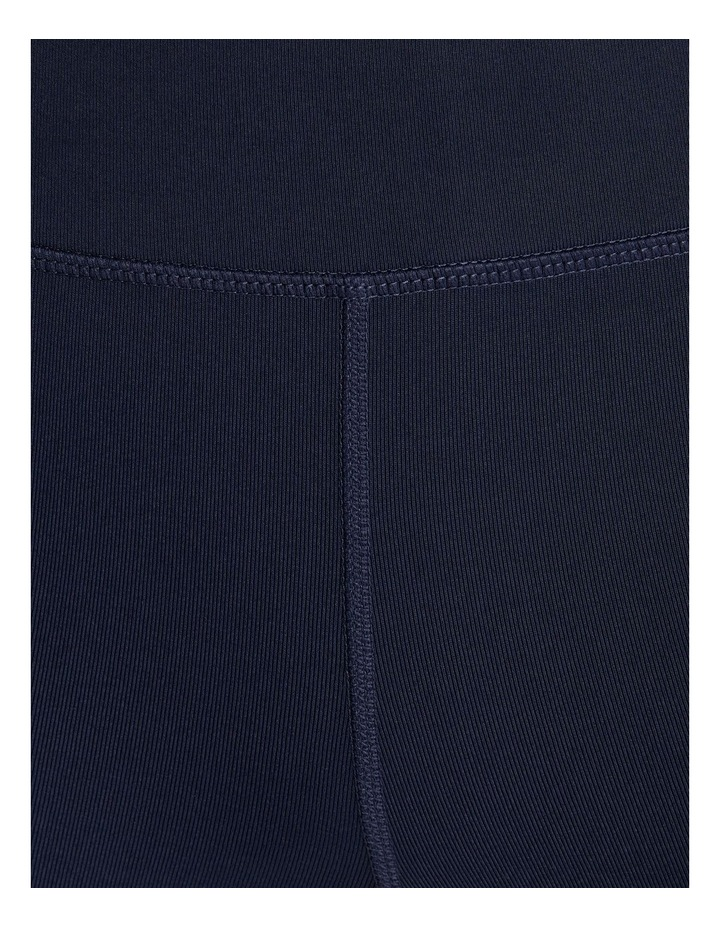 Perforated Pocket 3/4 Tights Navy image 6