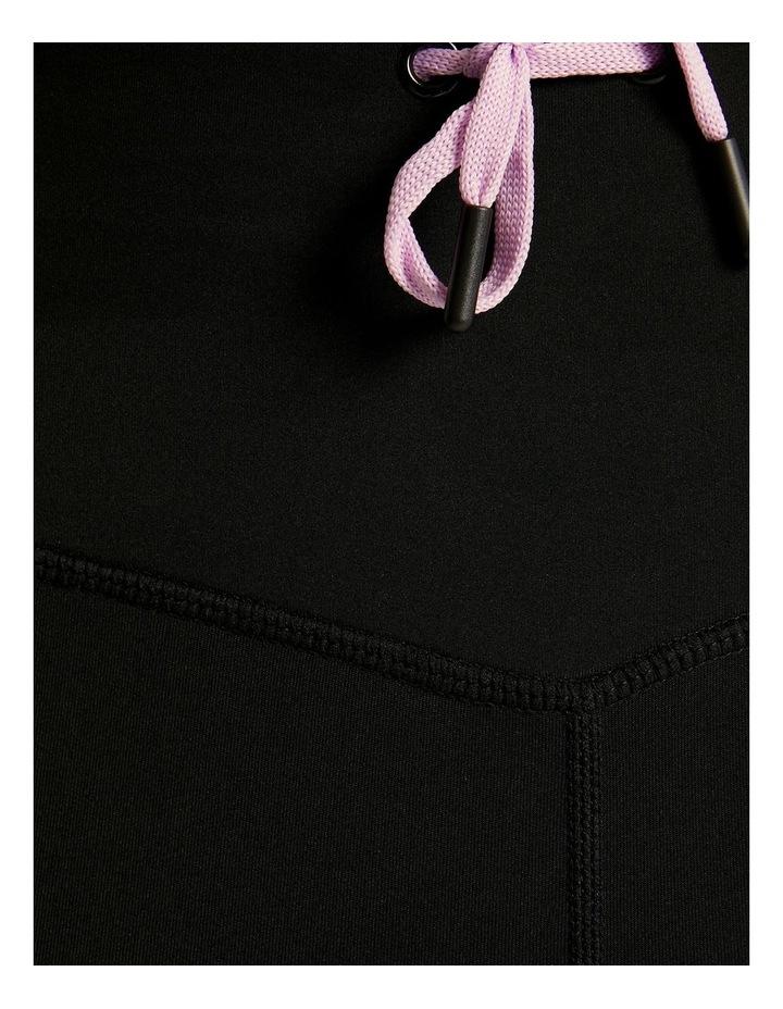 Waist Tie Pocket 7/8 Tights Black image 6