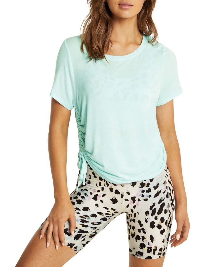 Dreamer Ruched Side Tee Mint image 1