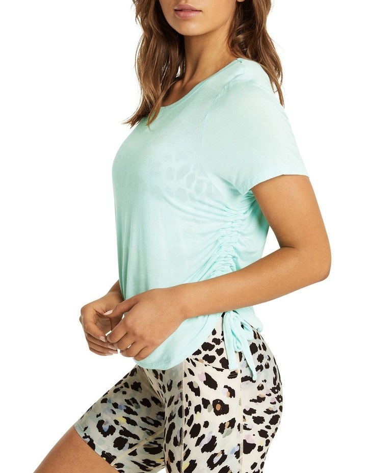 Dreamer Ruched Side Tee Mint image 2