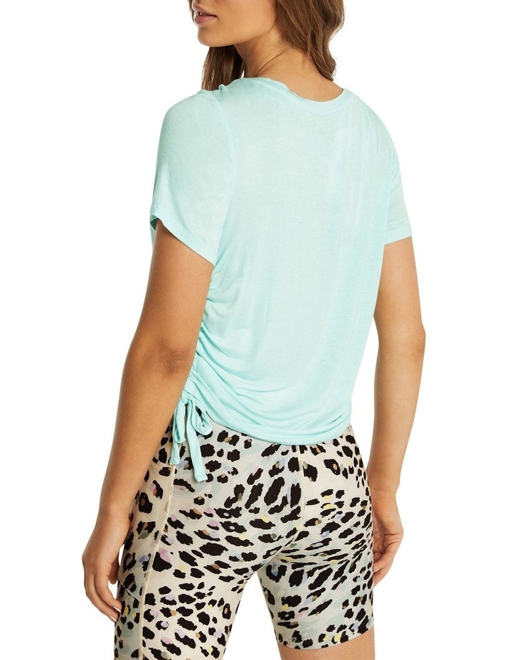 Dreamer Ruched Side Tee Mint image 3