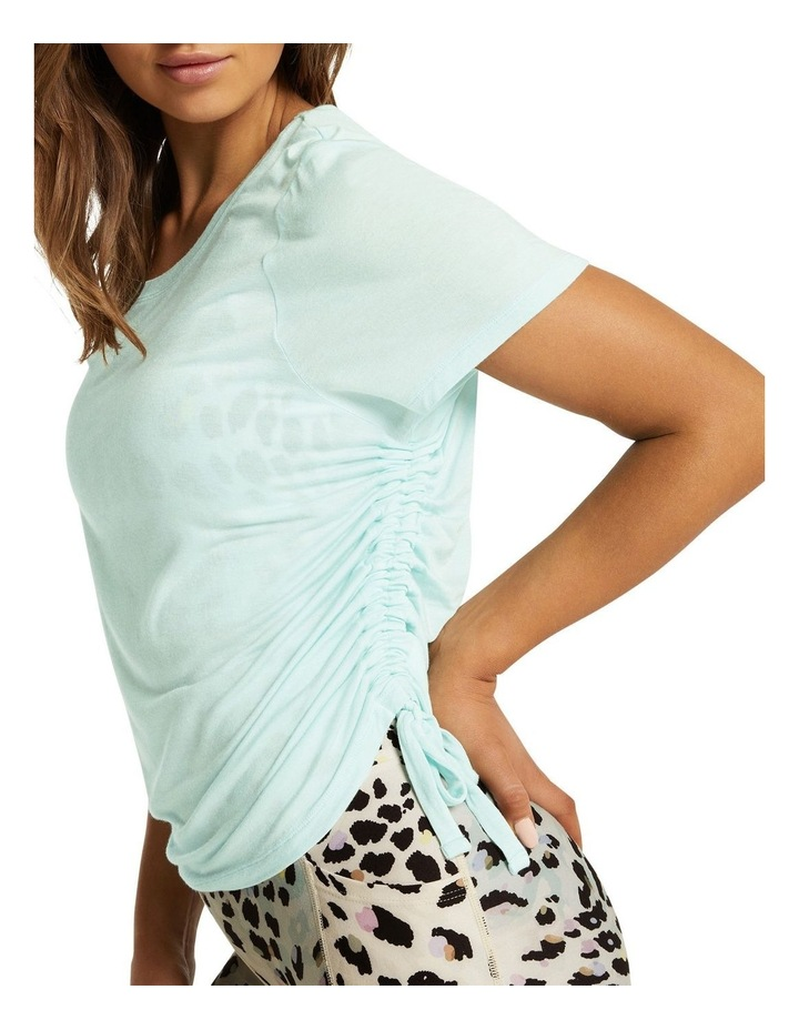Dreamer Ruched Side Tee Mint image 4