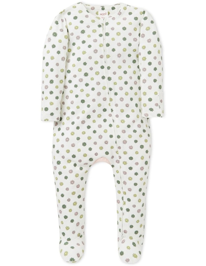 Floral Zip Suit   (Available In Size 00000) image 1