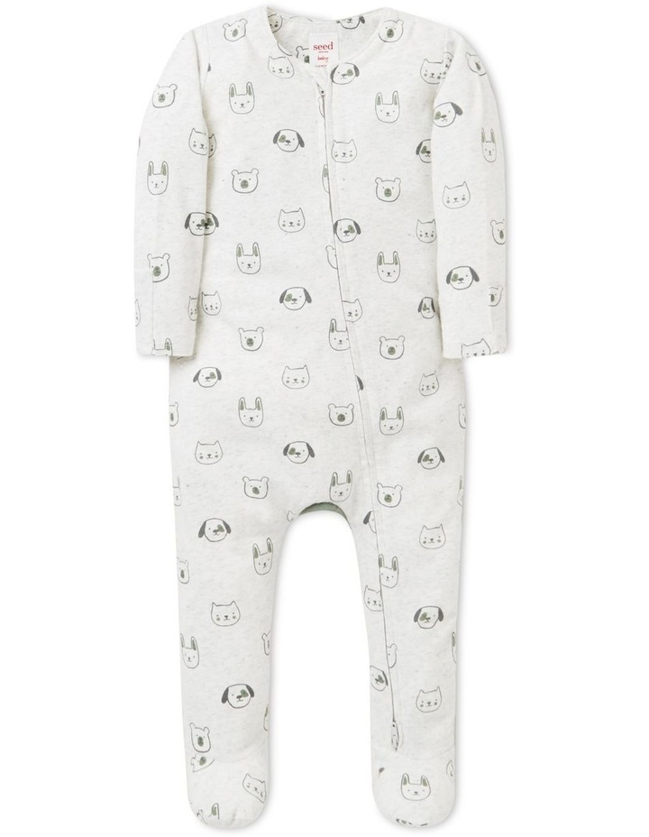 Animal Zip Suit   (Available In Size 00000) image 1