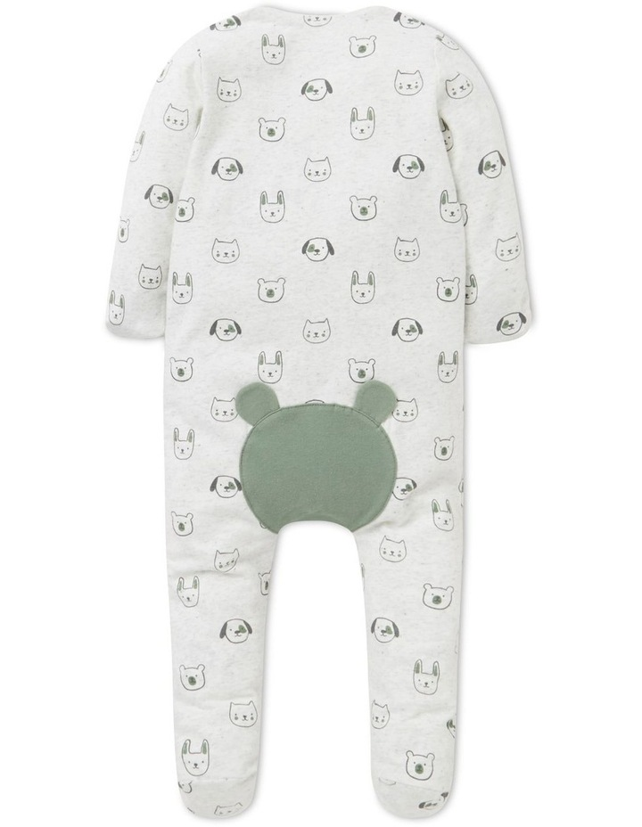 Animal Zip Suit   (Available In Size 00000) image 3