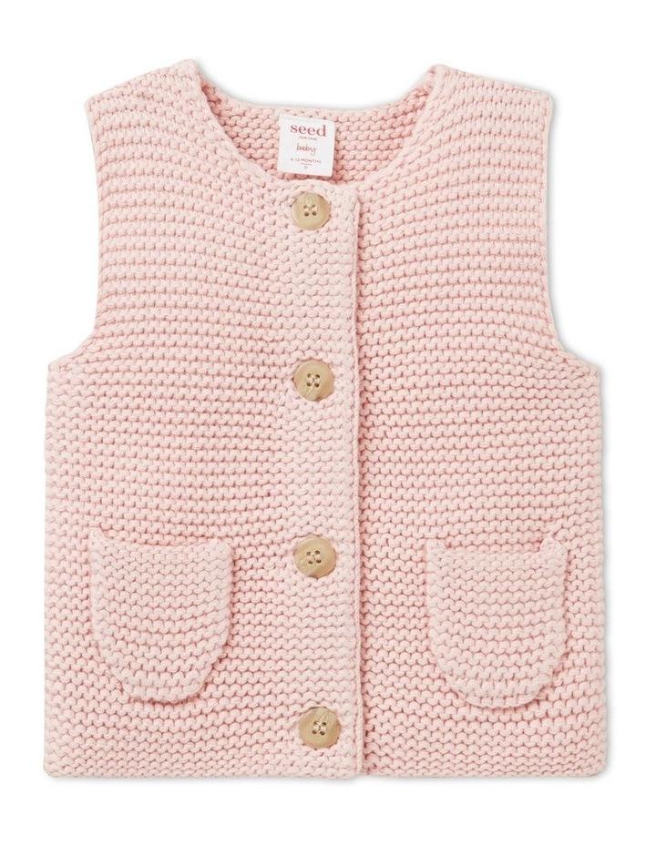 Pearl Knit Vest image 1