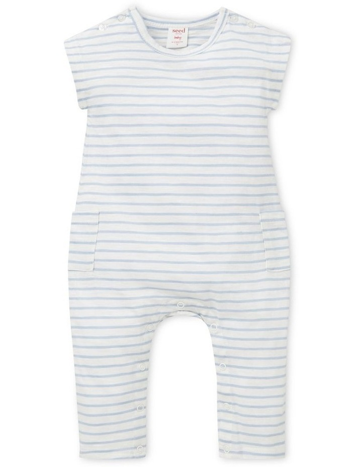 Slouchy Stripe Jumpsuit image 1