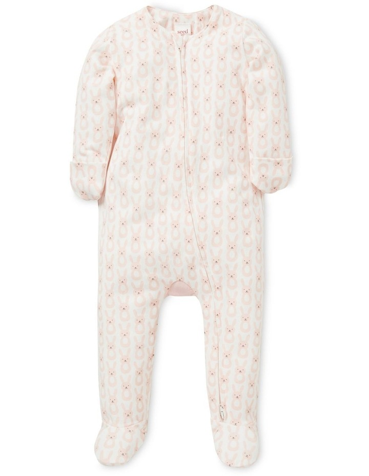 Bunny Bum Zipsuit (Available In Size 00000) image 1