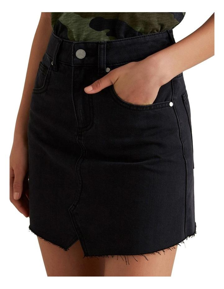 Reworked Denim Skirt image 2