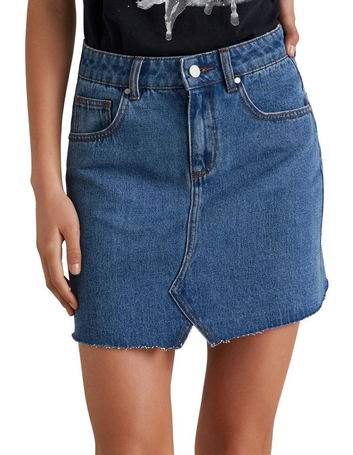 Rework Denim Skirt image 1