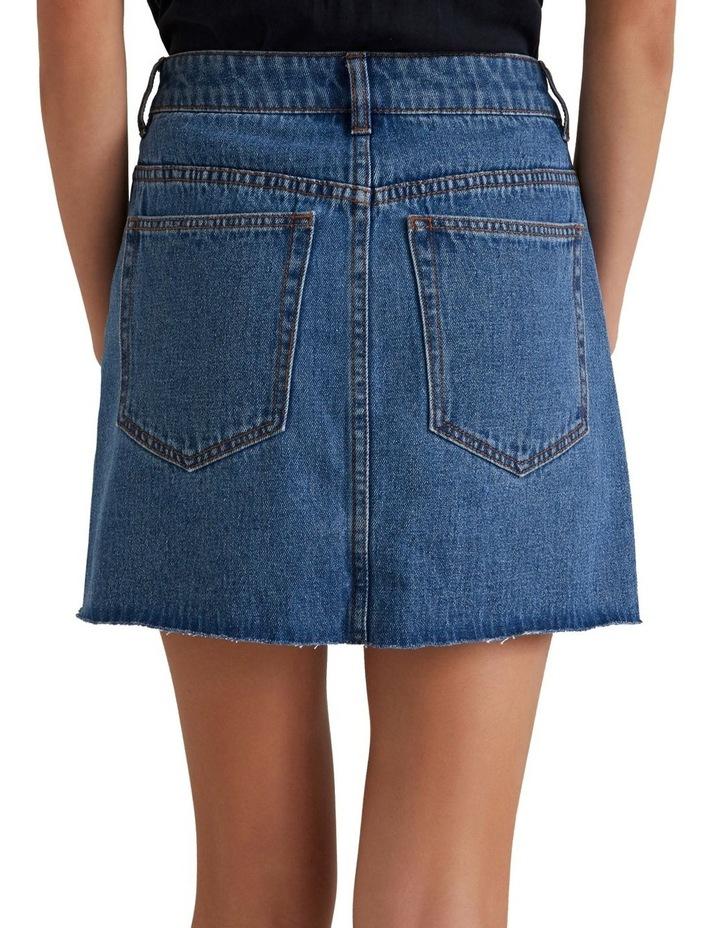 Rework Denim Skirt image 2