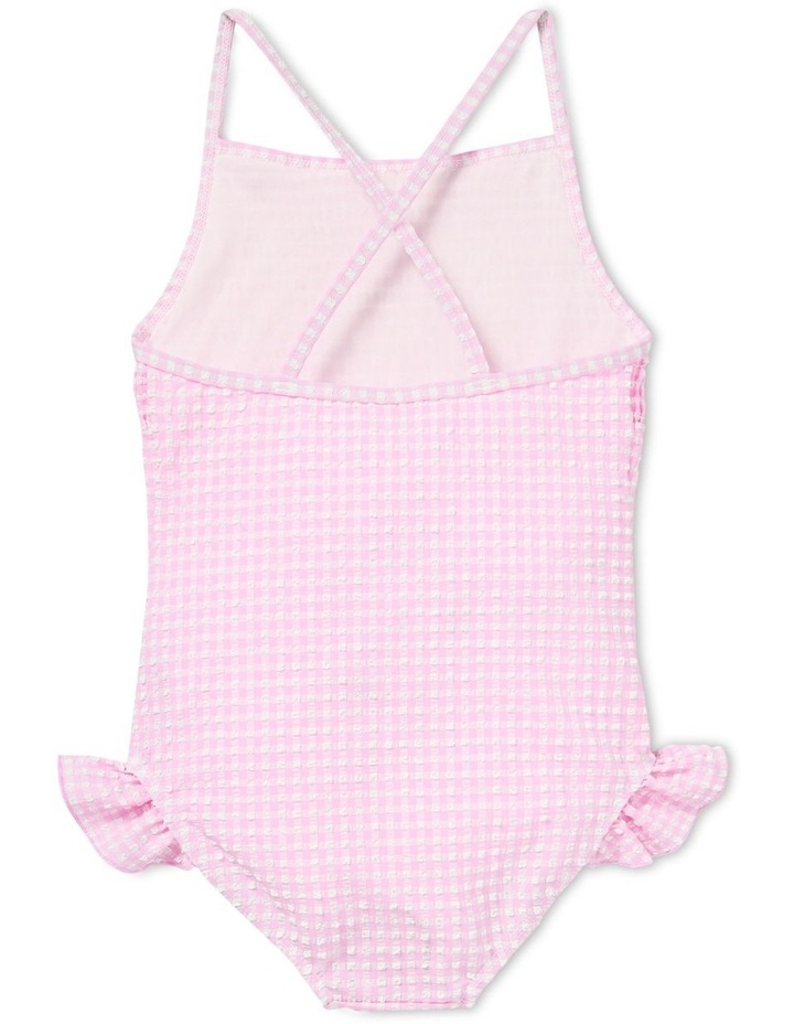 Shirred Gingham Bather image 2