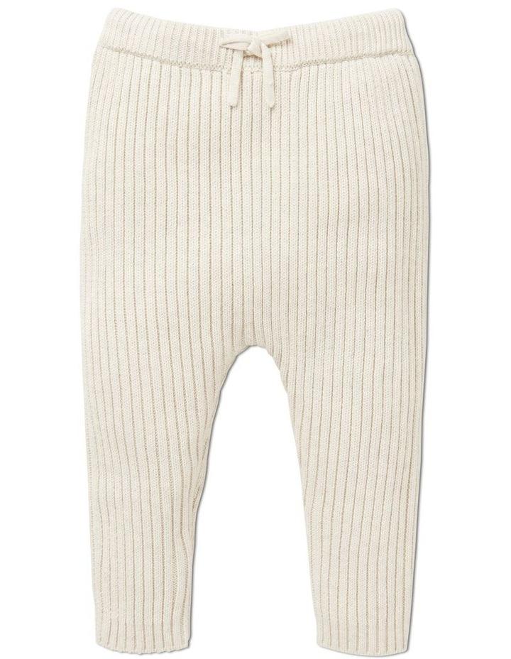 Rib Knitted Pant image 1