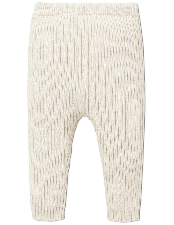 Rib Knitted Pant image 2