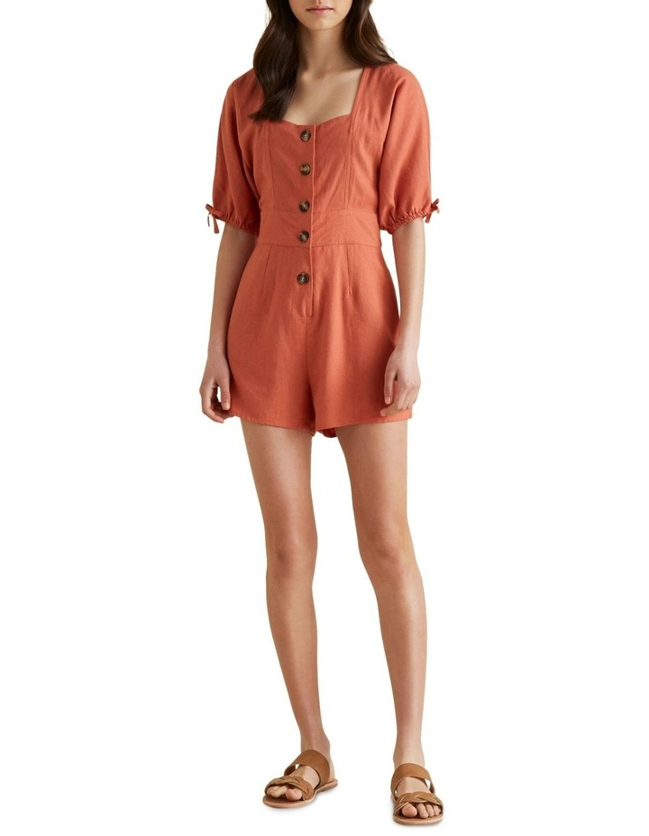 Button Front Playsuit image 1