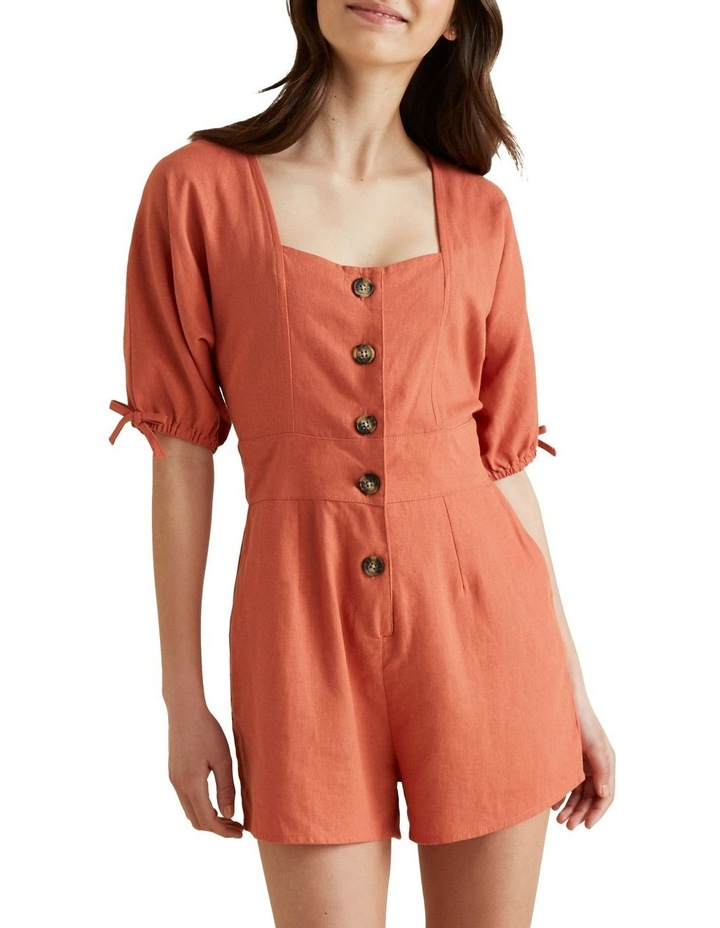 Button Front Playsuit image 4