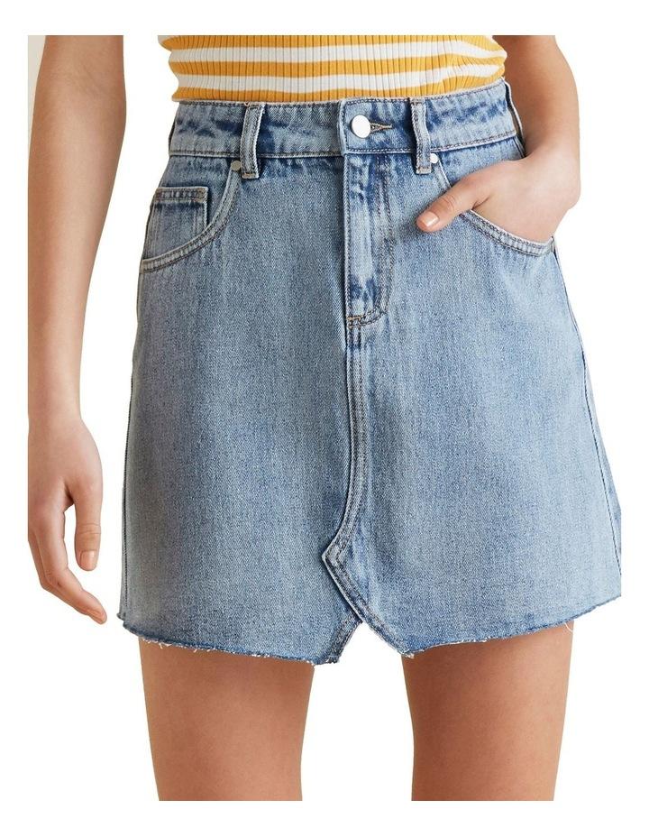 Reworked Denim Skirt image 4