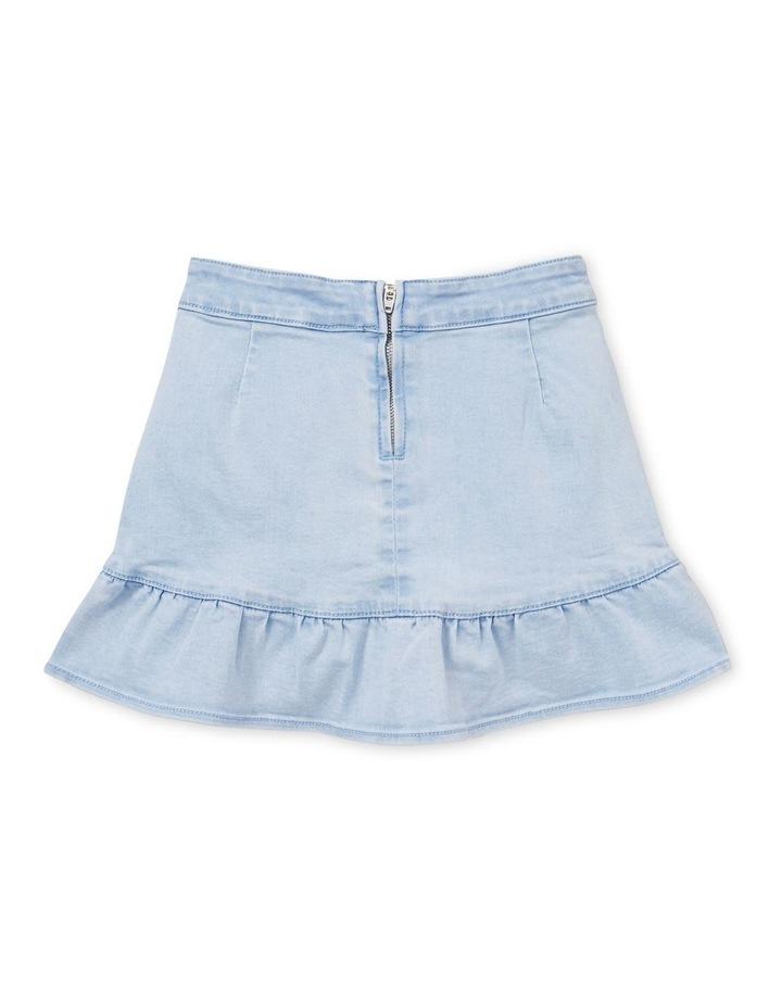 Denim Asymmetric Skirt image 2