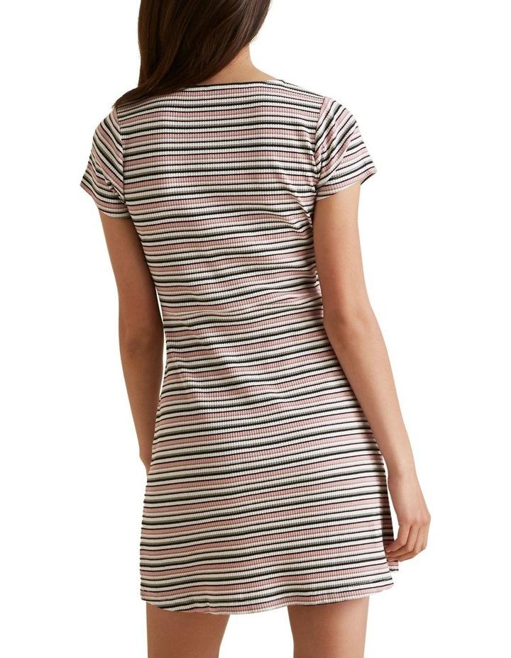 Square Neck Rib Dress image 3