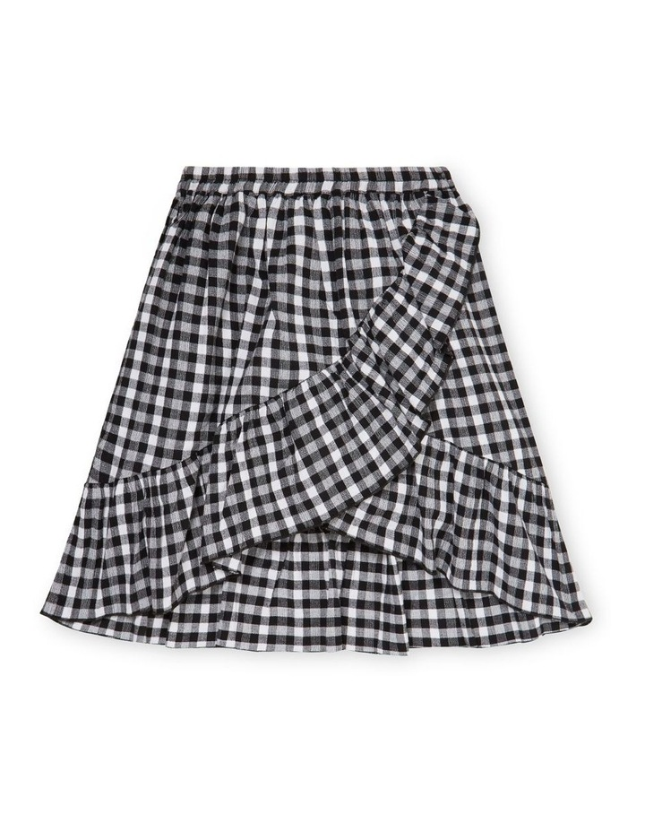 Gingham Midi Skirt image 1