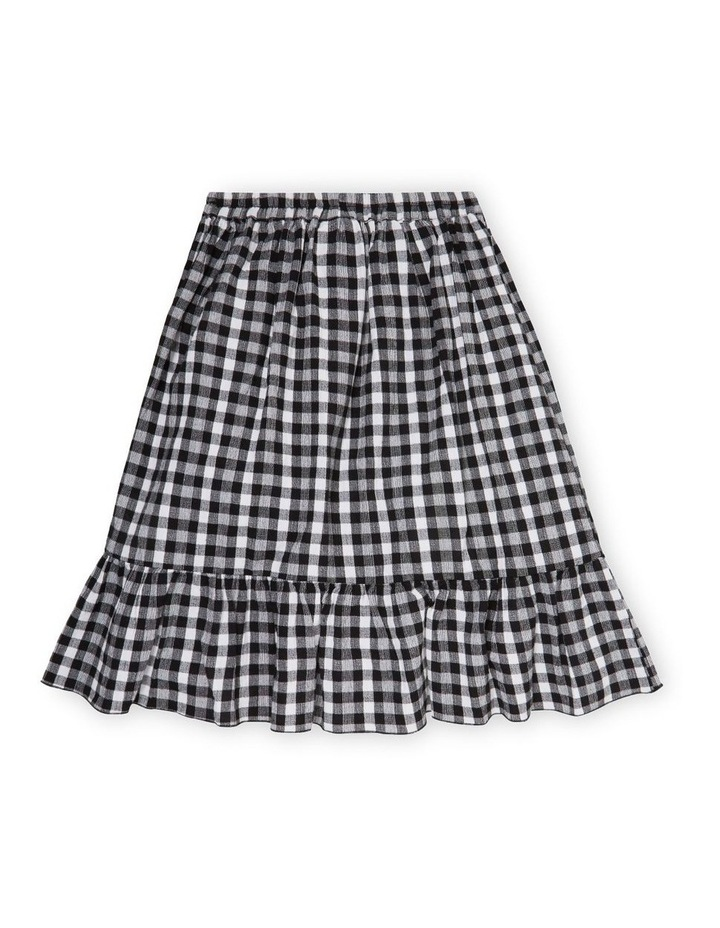 Gingham Midi Skirt image 2