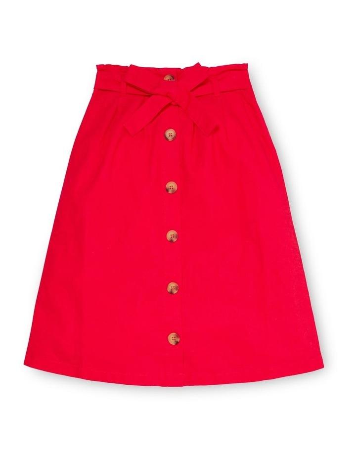 Button Midi Skirt image 1