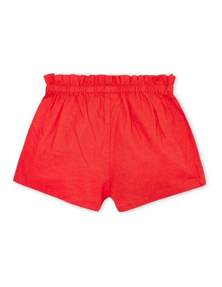 Linen Button Shorts image 2