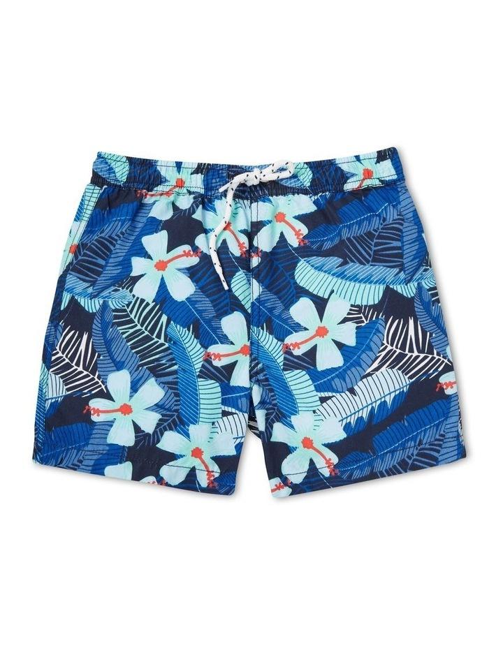 Boys Mini Me Tropical Boardshort image 1