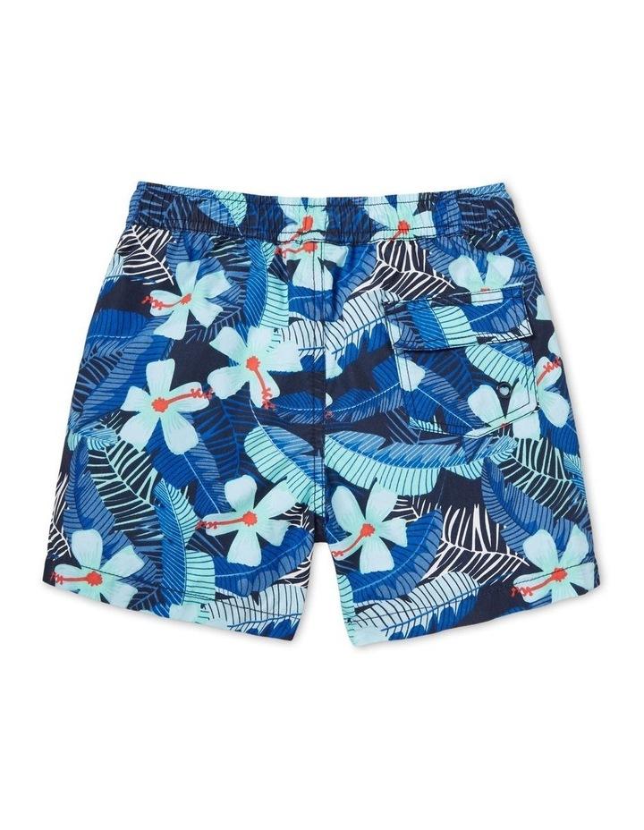 Boys Mini Me Tropical Boardshort image 2