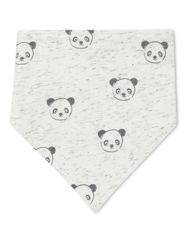 Panda Bandana Bib image 1