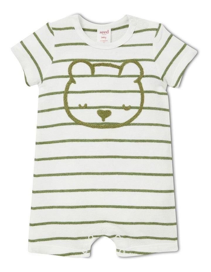 Bear Stripe Jumpsuit image 1