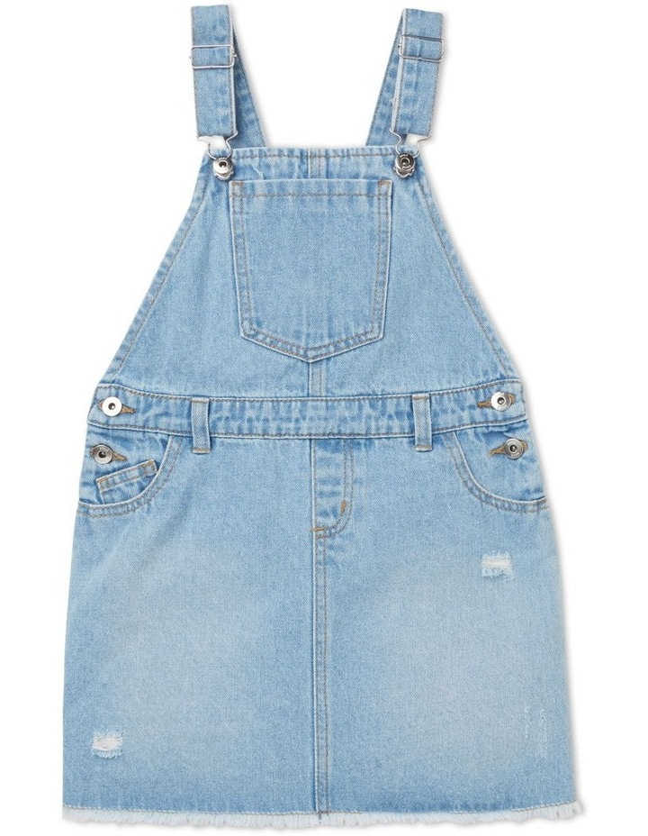 Distressed Denim Pinafore image 1