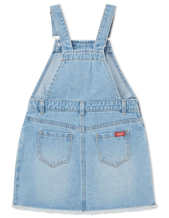 Distressed Denim Pinafore image 2