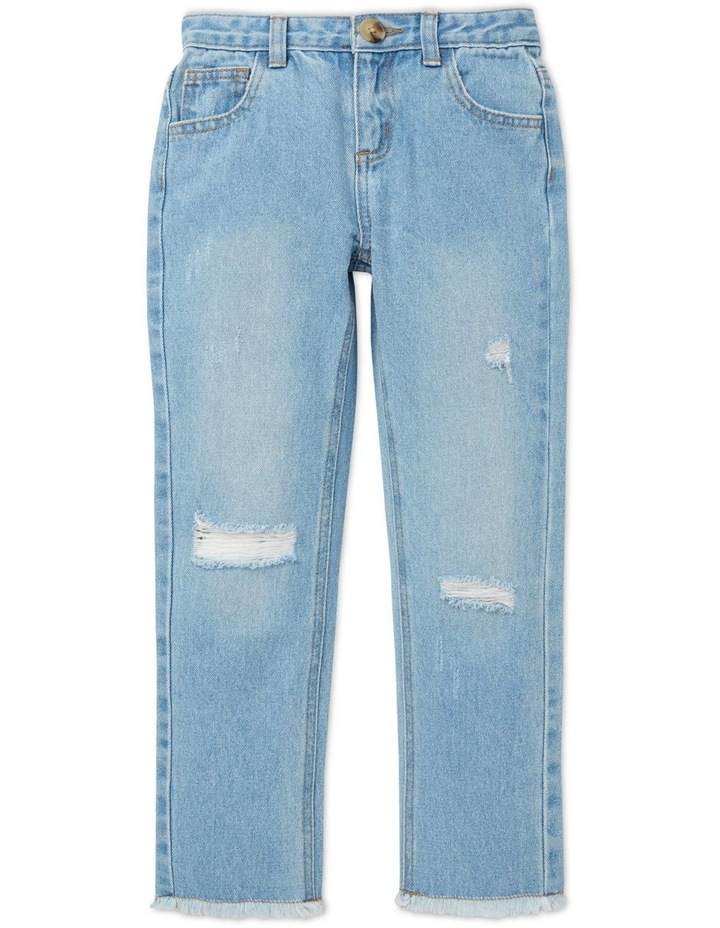 Relaxed Button Jeans image 1